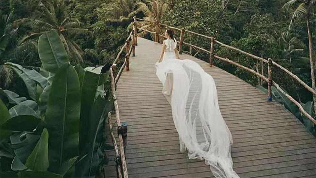 Uma Pakel Agro Tourism Tegalalang Ubud Wooden Bridge