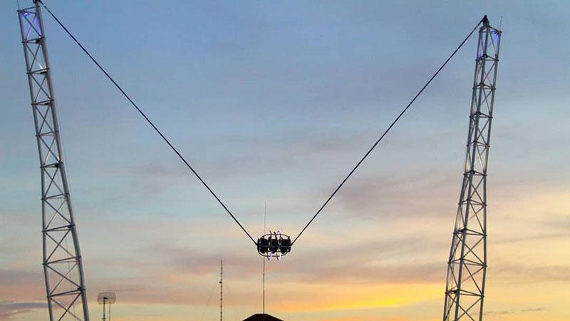 Sunset View During Reverse Bungee Kuta