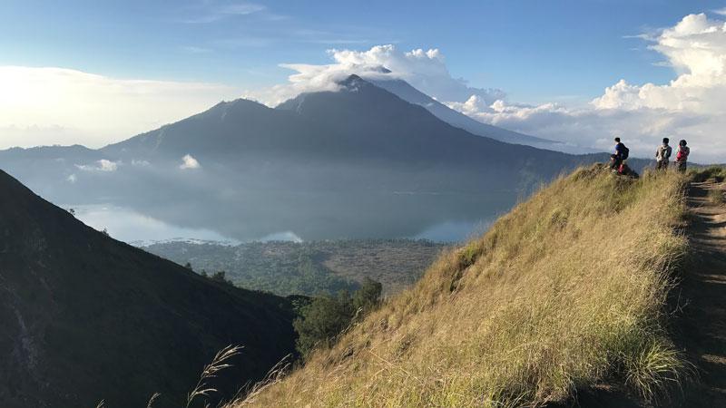 Climbing Mount Batur Kintamani - – Photo by LA khai-way