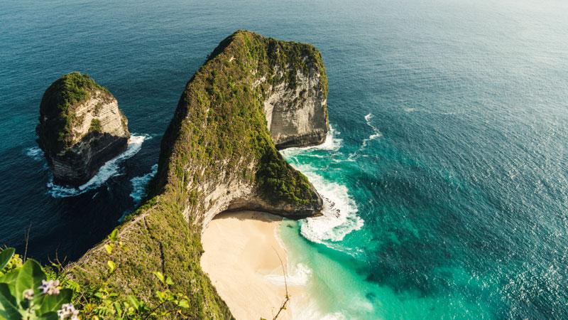 Kelingking Beach Nusa Penida Bali - Bali Itinerary 10 Days