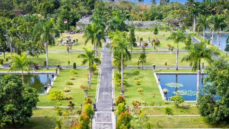 Taman Soekasada Ujung Water Palace View From Top