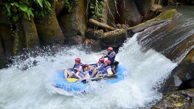 Melangit River White Water Rafting Bali