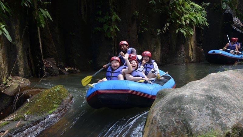 The Bakas Levi Rafting