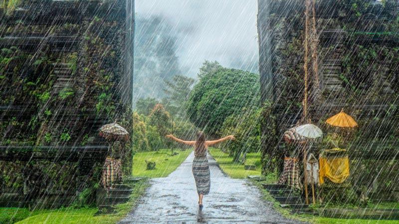 The Rainy Season In Bali