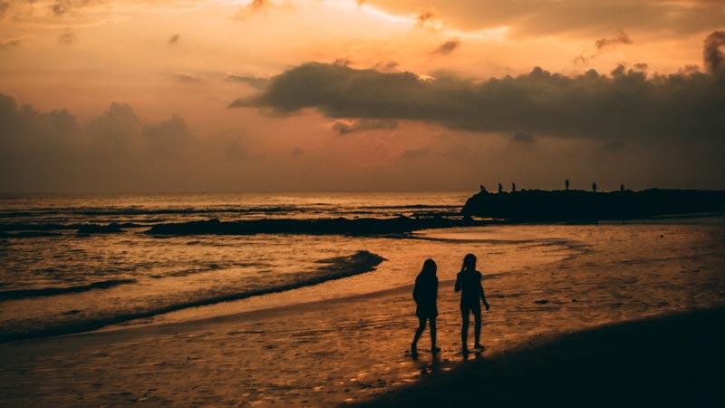 Canggu Beach Sunset