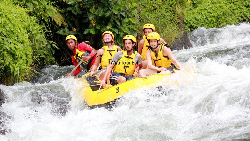 Rafting Trips On Telaga Waja River Karangasem
