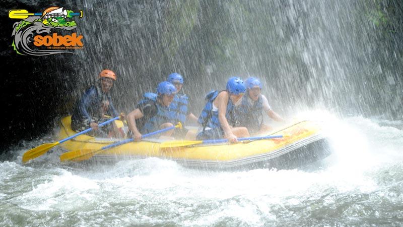 Telaga Waja Rafting Sobek Bali