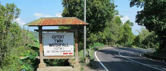 Gigit Twin Waterfall