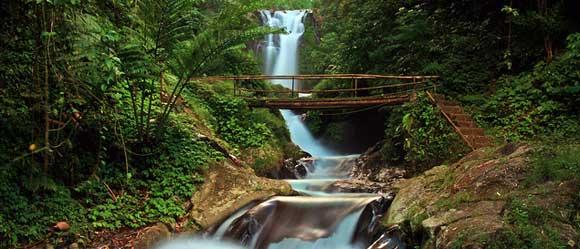 Gitgit Terraced Waterfalls