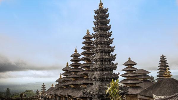Besakih Temple Shrine Karangasem