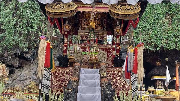 Balinese Temple Shrine